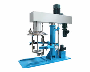 Disperser with Scraper